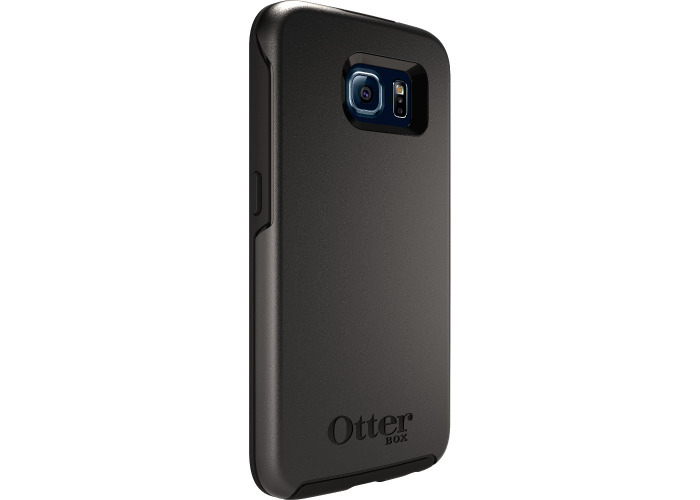 Otterbox Symmetry Series Cover Case for Samsung Galaxy S6 - Black - 2