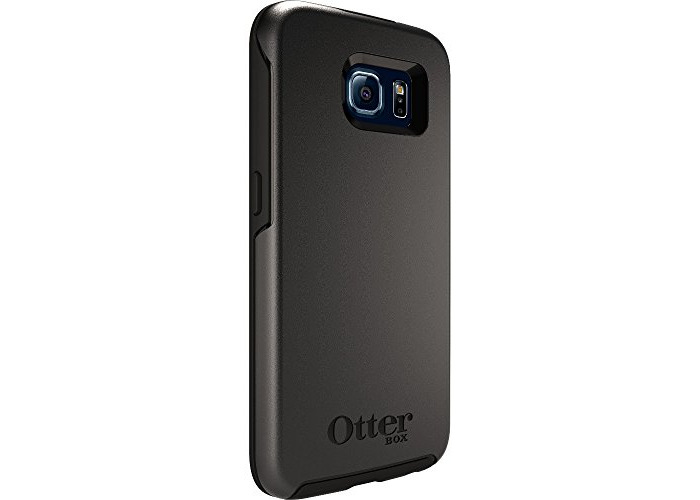 Otterbox Symmetry Series Cover Case for Samsung Galaxy S6 - Black - 1
