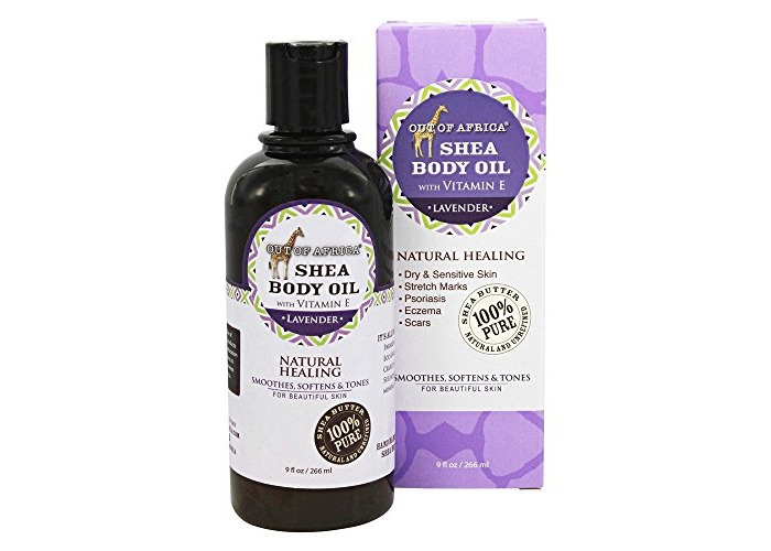 Out Of Africa - Pure Shea Body Oil Lavender - 9 fl. oz. - 1