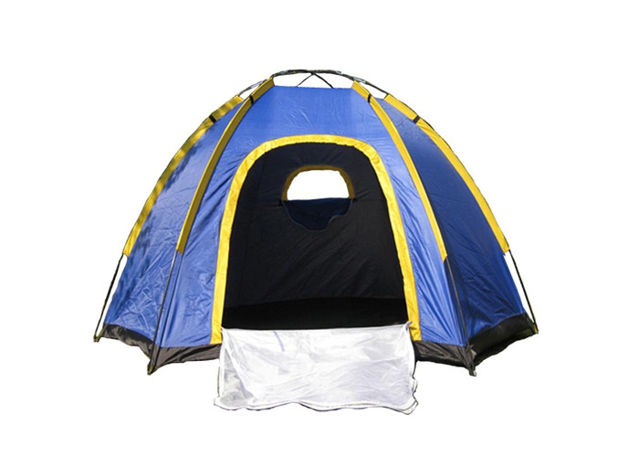 Outdoor 3-4 People Camping Tent Instant Pop-up Waterproof Large Family UV Sunshade Canopy - 2