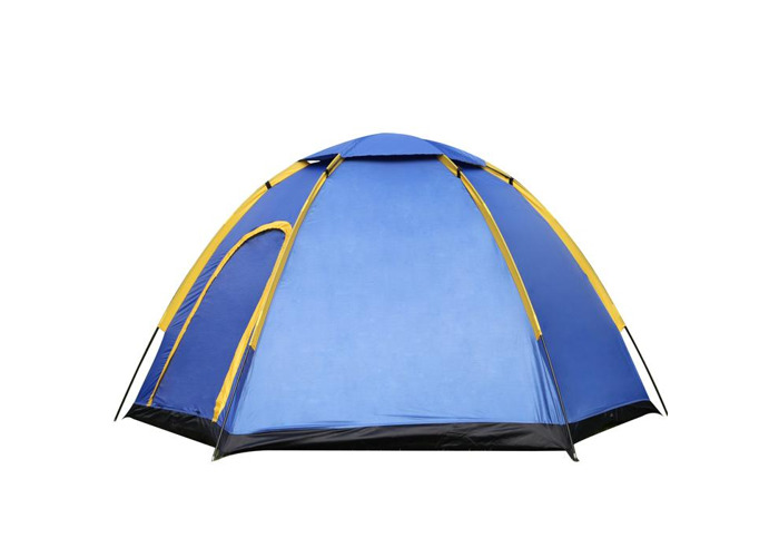 Outdoor 3-4 People Camping Tent Instant Pop-up Waterproof Large Family UV Sunshade Canopy - 1