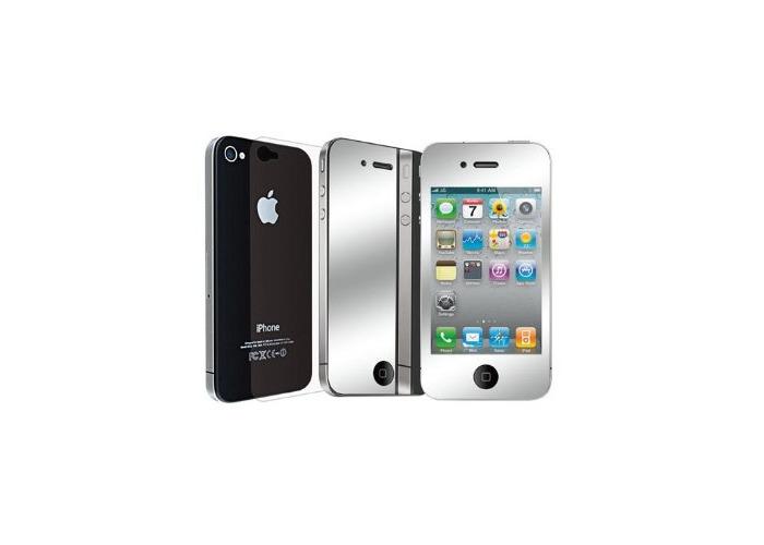 Ozaki iCoat Mirror Screen Protector Mirror Effect for iPhone 4 Transparent - 2
