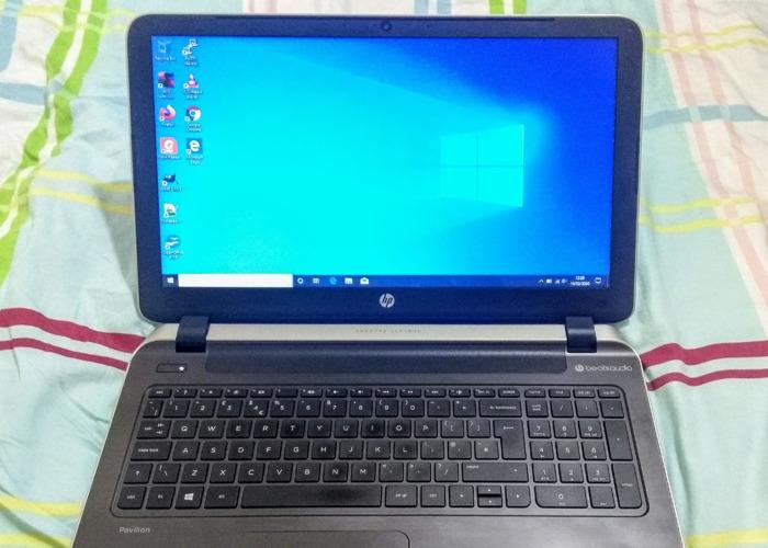 HP Pavilion 15.6 inch Laptop / notebook, Quad Core, 12GB RAM - 1