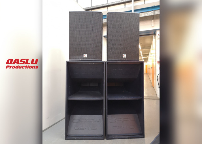 PA Sound System (up to 400 people) - Party Speakers - 1