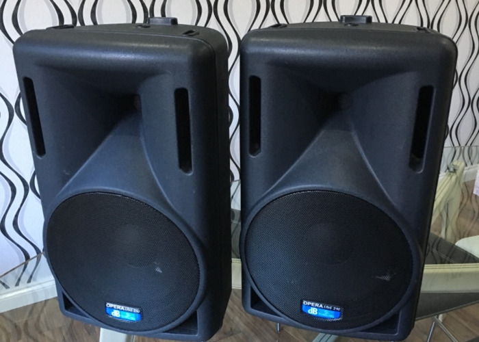 Pa Speakers - Db Live 210 - 1