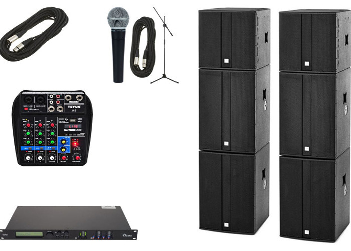 PA Speakers for up to 400 people - 1