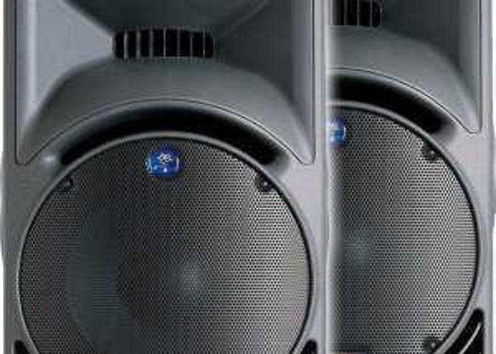 PA System - Mackie SRM 450 & FX Pro 12 Audio Mixer - 1