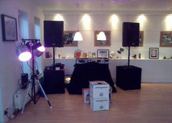 PA System, 2 speakers with Stand for Hire / Rent - 2
