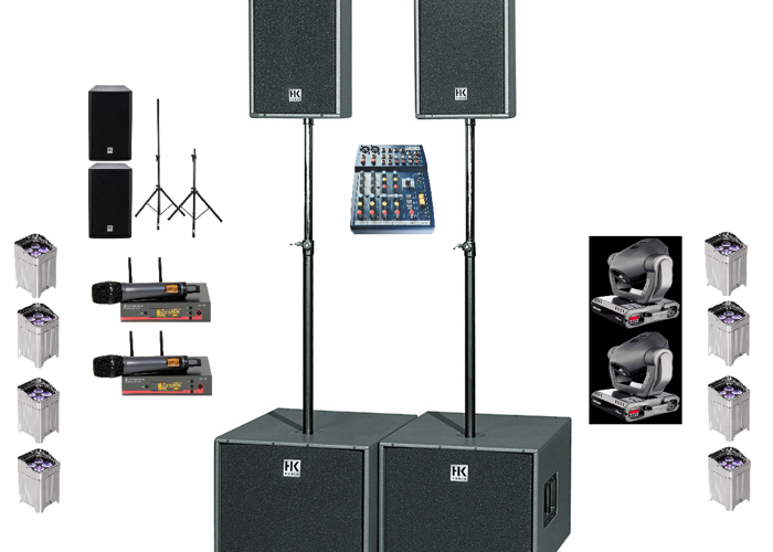 Rent Pa System And Lighting Setup in London