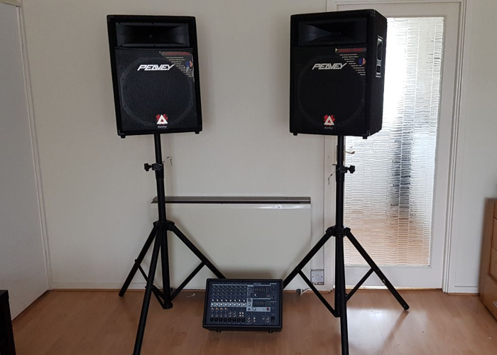 PA system for hire - 1