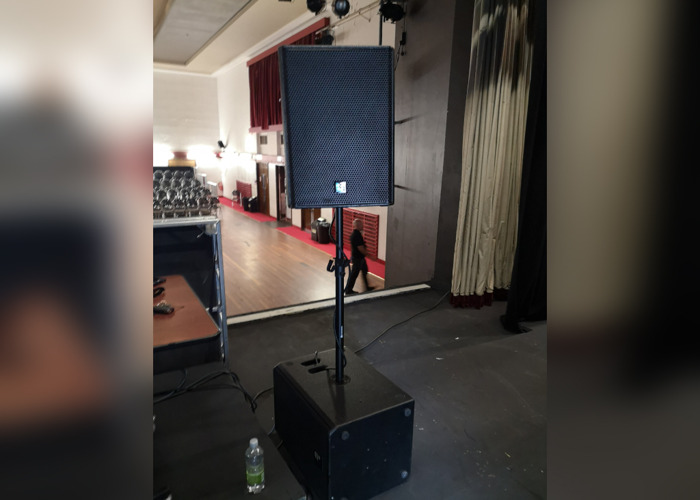 PA System for up to 150 People - DJ Speakers - Sound  - 2