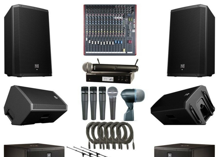 Pa system hire speakers hire microphone hire - 1