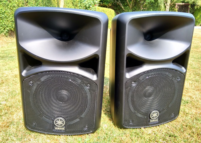 PA System, Yamaha Stagepas with mic and built in mixer.Stands inc. - 1