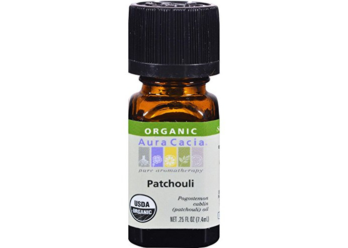 Pack of 1 x Aura Cacia Organic Patchouli - .25 oz - 1