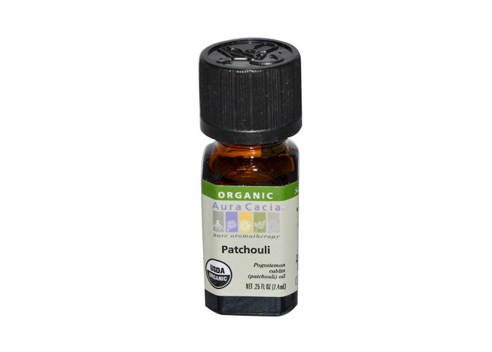 Pack of 1 x Aura Cacia Organic Patchouli - .25 oz - 2