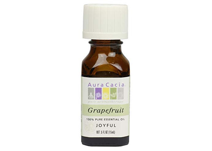 Pack of 1 x Aura Cacia Pure Essential Oil Grapefruit - 0.5 fl oz - 1