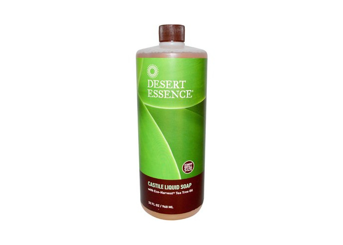 Pack of 1 x Desert Essence Castile Liquid Soap with Eco-Harvest Tea Tree Oil - 32 fl oz - 1