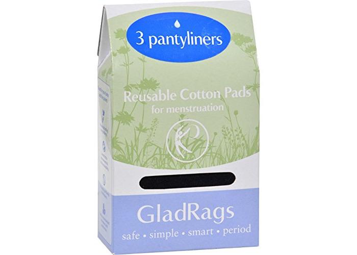 Pack of 1 x Gladrags Color Pantyliner Regular Cotton - 3 Pack - 1