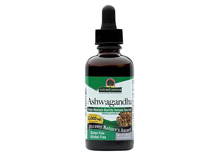 Pack of 1 x Nature's Answer Ashwagandha Root - 2 fl oz - 1