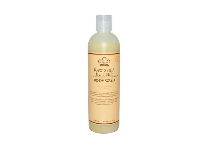 Pack of 1 x Nubian Heritage Body Wash Raw Shea Butter - 13 fl oz - 1