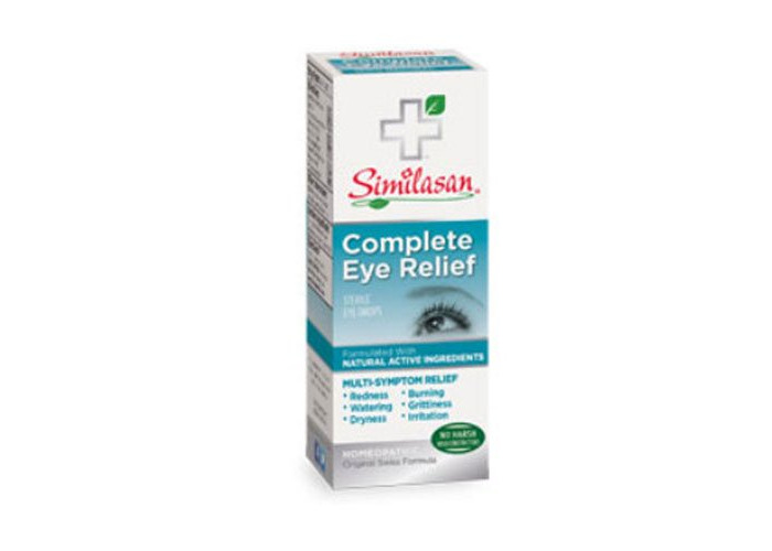 Pack of 2 x Similasan Eye Drops - Complete Relief - .33 oz - 1