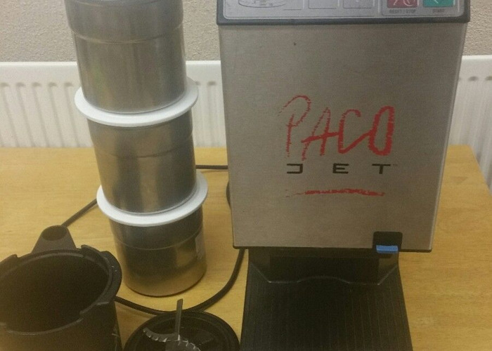 Pacojet 1 with 6 beakers and coupe set - 1