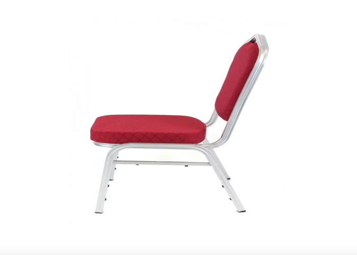 Padded Black or Red Banqueting Chair - 2