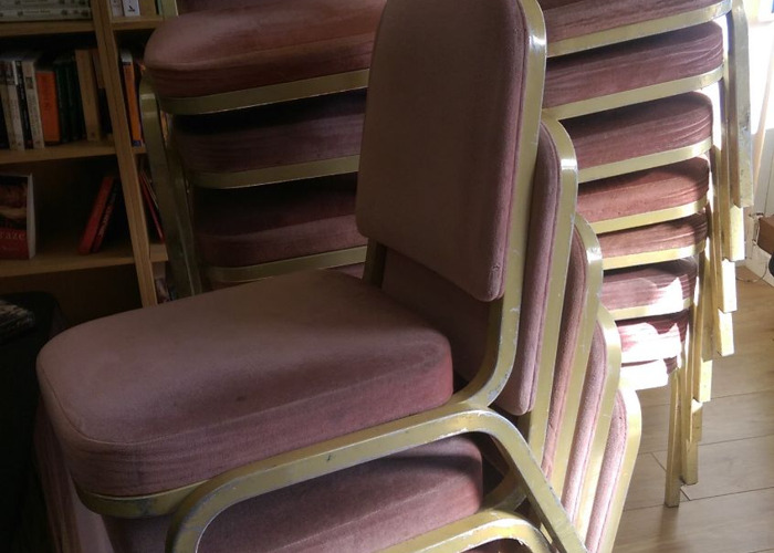 Padded Stackable Banquet Chairs - 1