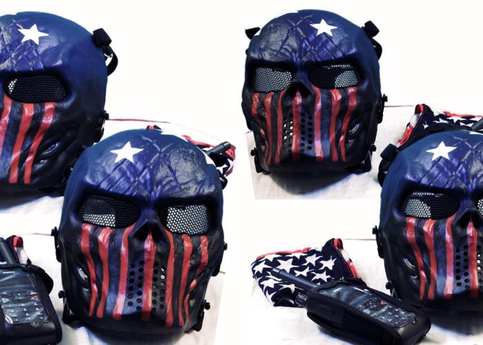 Paintball mask - 1