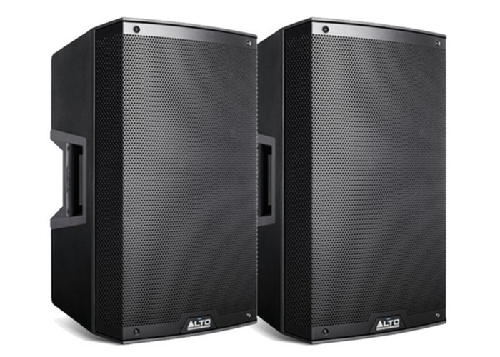 *PAIR* Alto TS215 Active PA Speaker (stands + cables incl) - 2