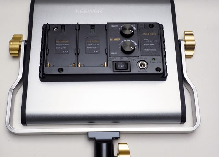 Pair of Neewer 480 LED Light Panels  - 2