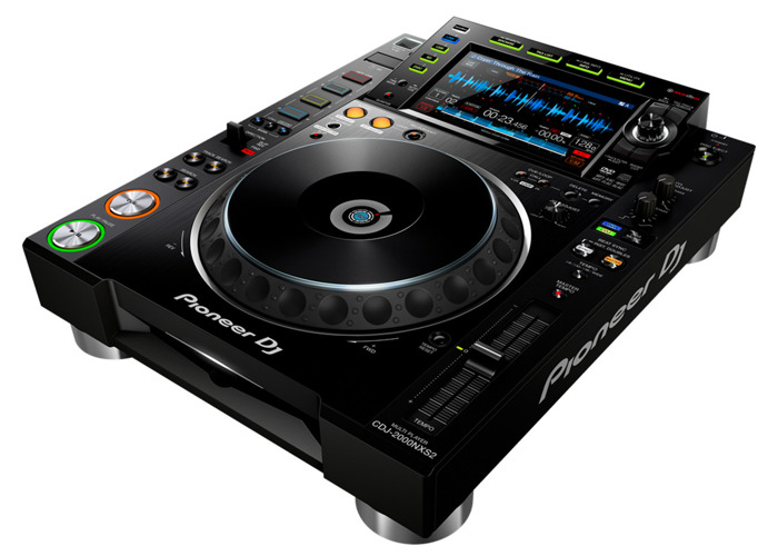 Pair of Pioneer CDJ 2000NXS2 Professional DJ multi player - 2