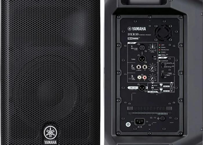 "Pair Yamaha DXR 10 1100W 10"" Active Speakers - 2"