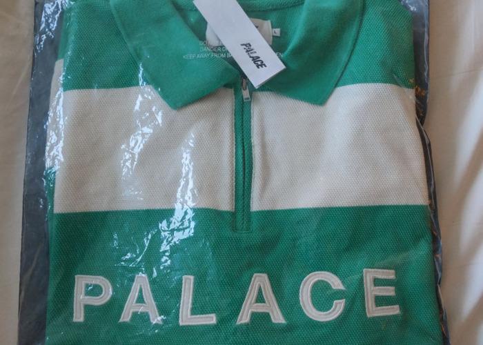 Palace J Stripe Crew - Long Sleeve Top - 1