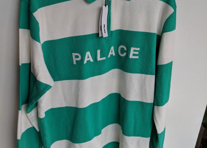 Palace J Stripe Crew - Long Sleeve Top - 2