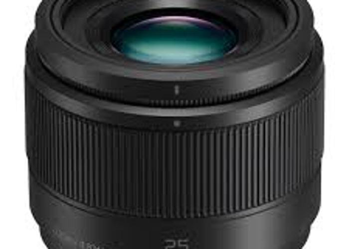 Panasonic 25mm f1.7 - Micro 4/3 - Panasonic/Olympus - 1