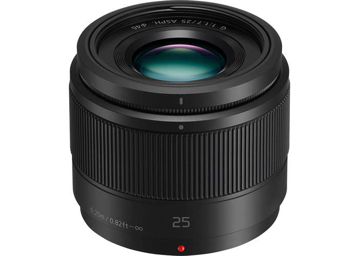 Panasonic 25mm f1.7 ASPH LUMIX G Lens - Black - 1