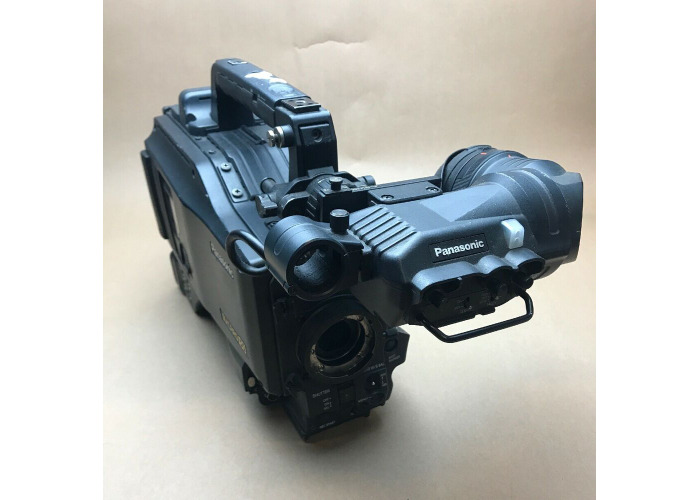 Panasonic AJ-SPX900E DVCPRO50 P2 Camcorder and Panasoinc Viewfinder AJ-VF20WBE. - 1