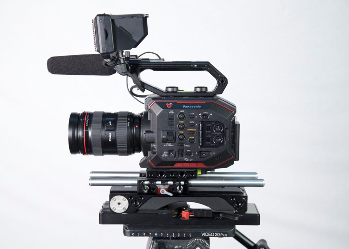 Panasonic AU-EVA1 Compact 5.7K Super 35mm Cinema Camera - 1