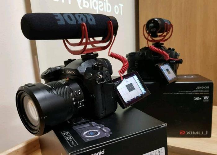 Panasonic GH5 + Leica 12-60mm Lens + Rode Mic & more - 1