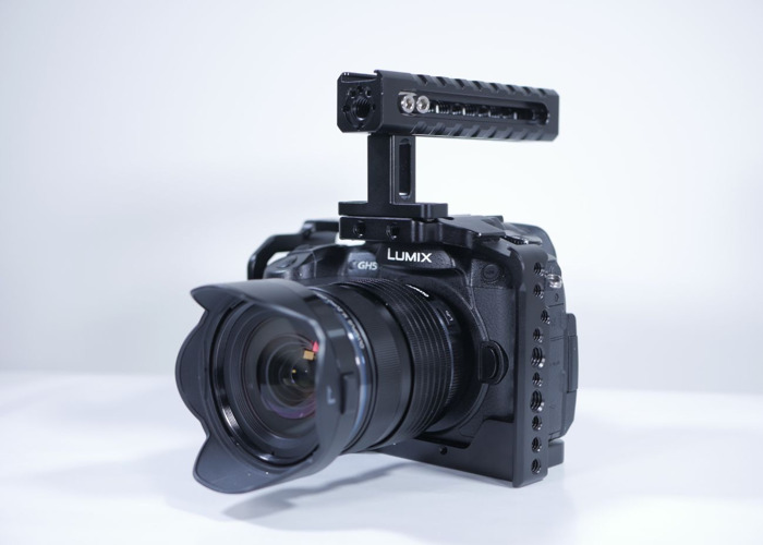 Panasonic GH5 4K Camera with Olympus 12-40mm Lens - 1