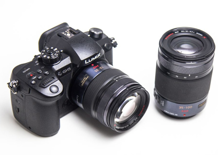 Panasonic GH5 Camera with Lens Kit (12-35mm + 35-100mm)  - 1