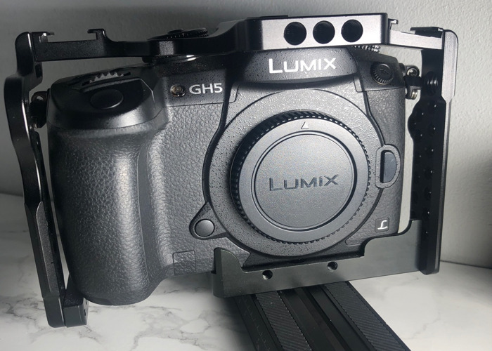Panasonic GH5 with Camera Cage - 1