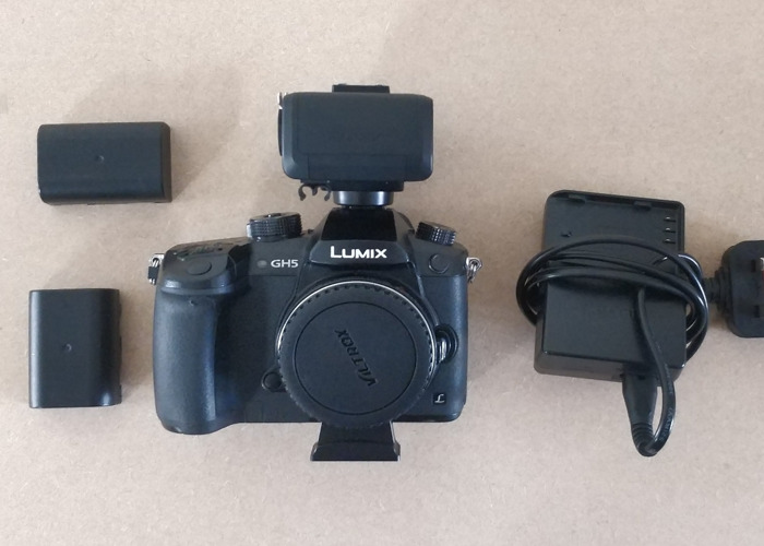 Panasonic GH5 with XLR box and speedbooster  - 1