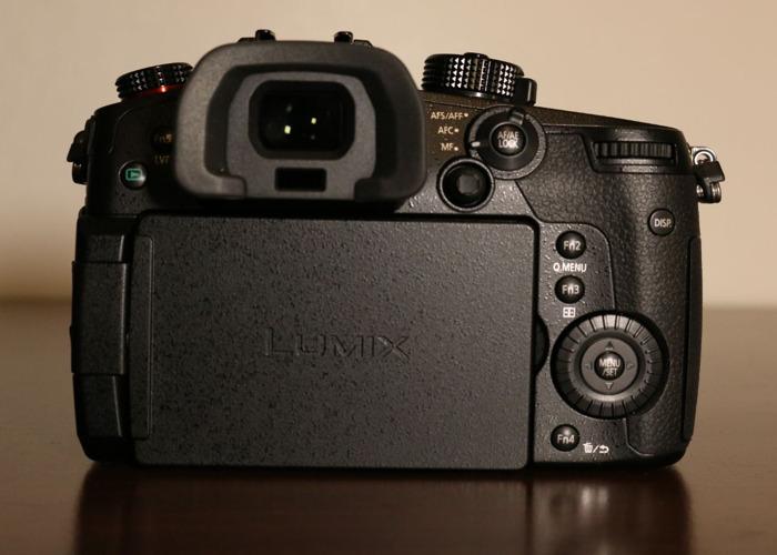 Panasonic GH5s 4K camera - 2