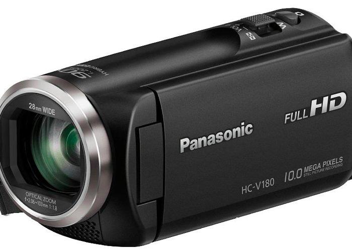 Panasonic HC-V180 Camcorder  - 1