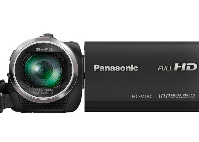 Panasonic HC-V180 Camcorder  - 2