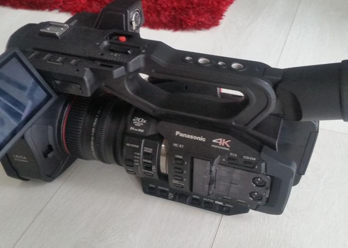 Rent Panasonic HC-X1E 4K UHD Professional Video Camera Camcorder in London