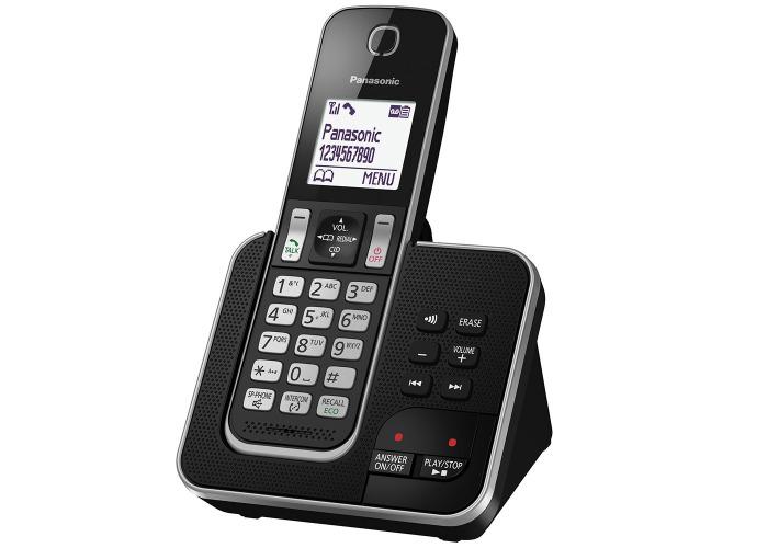 Panasonic KX-TGD320EB Cordless Home Phone With Nuisance Call Blocker - 2