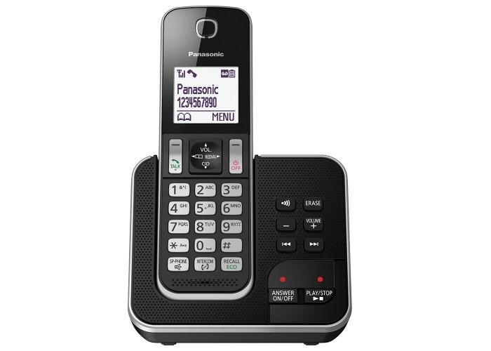 Panasonic KX-TGD320EB Cordless Home Phone With Nuisance Call Blocker - 1